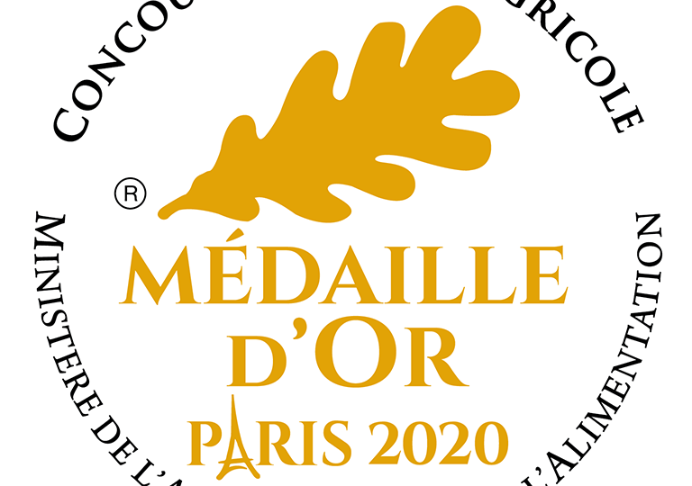 Medaille Or 2020 PARIS CBY