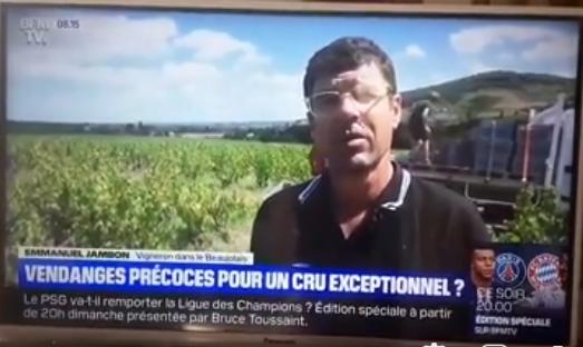 reportage BFM Télé